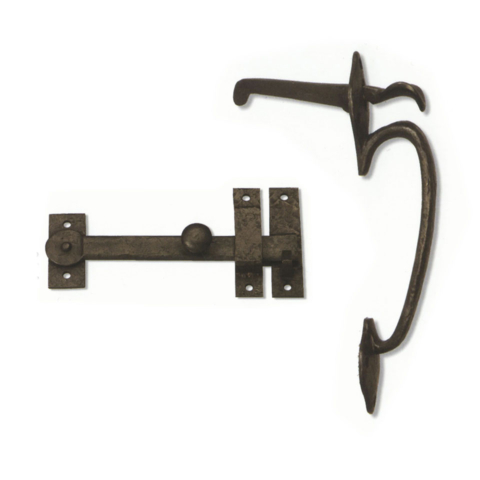 Traditionial Drop Bar Thumb Latch | Coastal Bronze