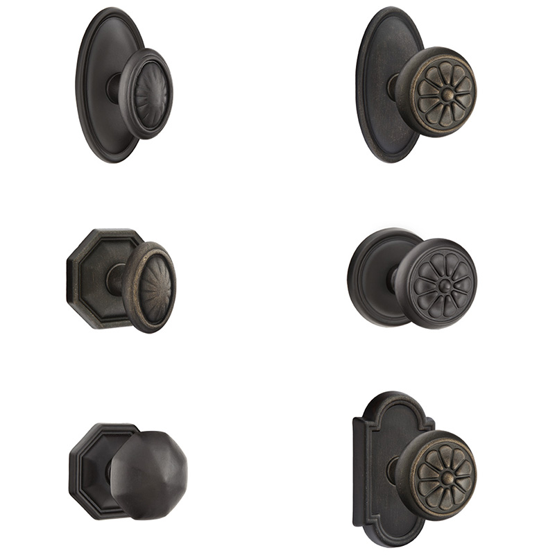 Tuscany Bronze Door Knobs Emtek Door Hardware Joinery Hill