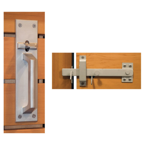 Contemporary Gate Latch | Snug Hardware Collection
