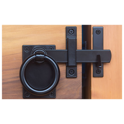 Modern Gate Latch | Snug Hardware Collection