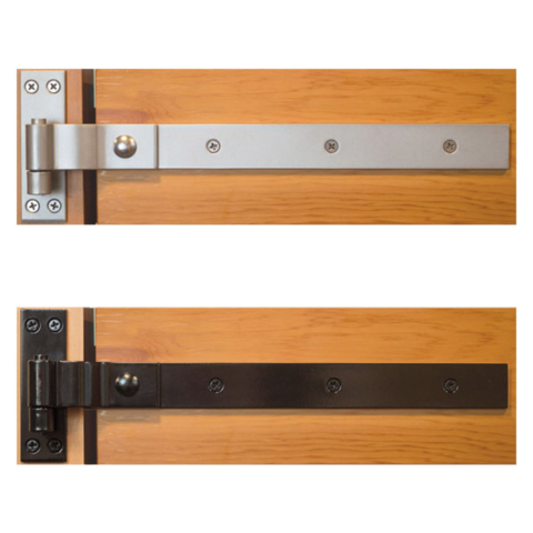 Modern Strap Gate Hinges | Snug Hardware Collection
